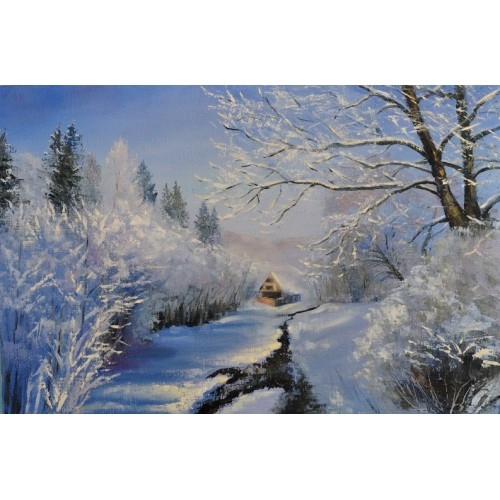 Карпаты, снег