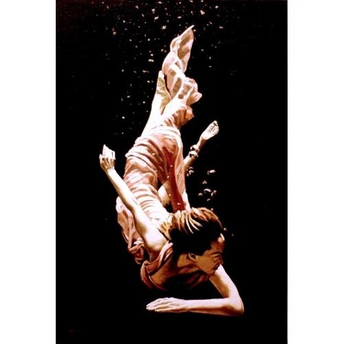 картина маслом, Под водой (Sotto la Aqua), Жанровая живопись