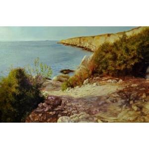 Теплый крымский пейзаж