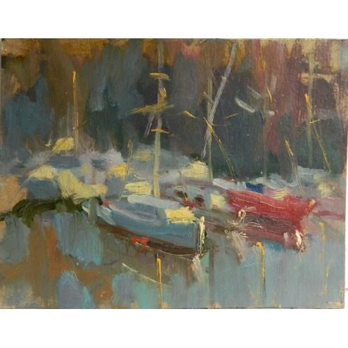Яхты возле берега