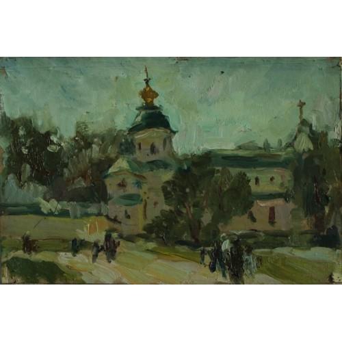 Дворик Софии Киевской