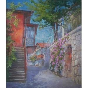 Крымский дворик с розами
