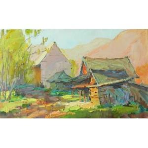 Домики в Карпатах