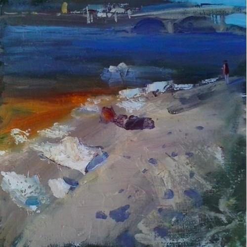 Льдины на берегу