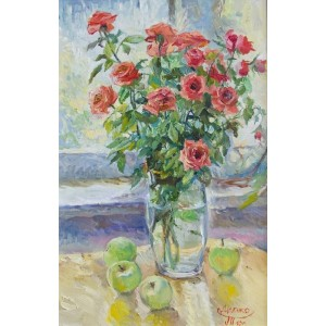 Розы  на солнце