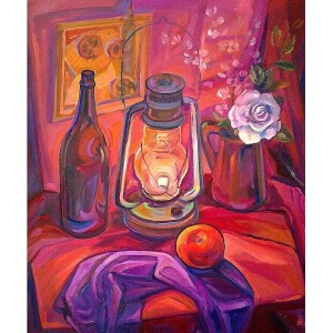 Натюрморт с фонарем