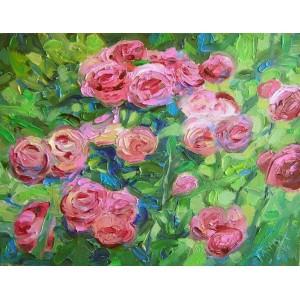 Кущ рожі