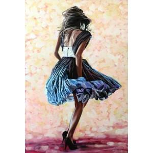 картина маслом, В движении (In Motion), Жанровая живопись