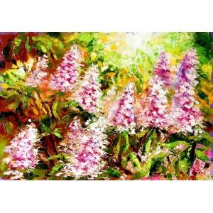 Квітнуть каштани