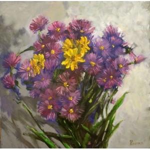 Цветы в букете