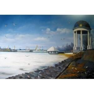 Зима в Бердянске