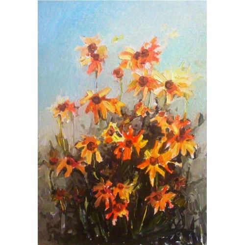 Букет желтых цветов
