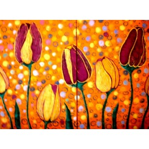 Тюльпаны, диптих