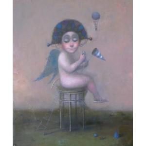 Ангел на высоком стуле