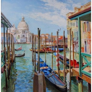 Венеция. Вид на Сан Марко