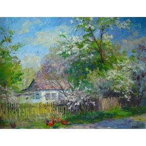 Уквітчаний сад