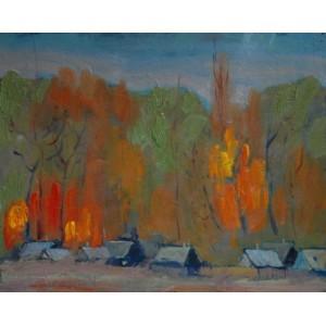 В селі осінь