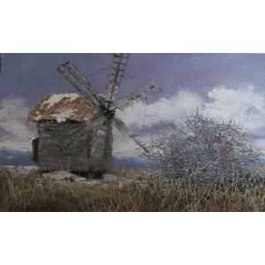 Шиповник и мельница
