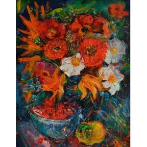 Квіти та Черешня
