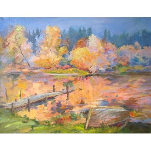 Осенняя лодка