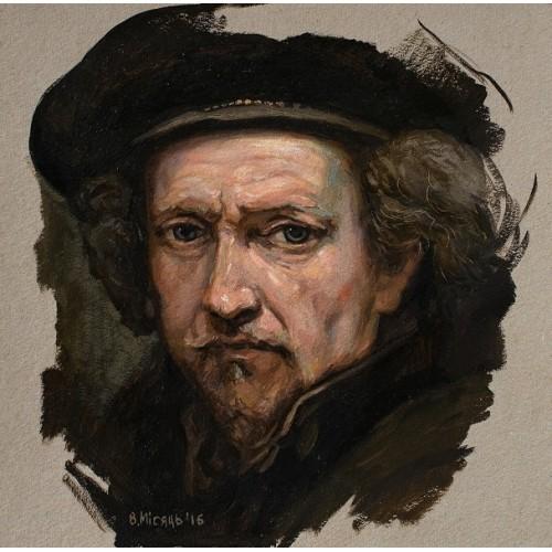 Автопортрет Рембрандт