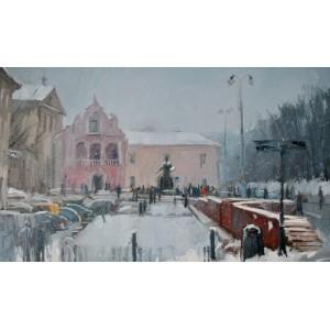 Львов. Памятник Ивану Федорову