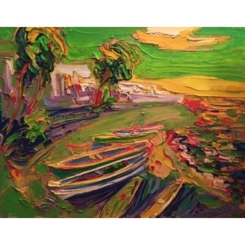 Лодки и пальмы