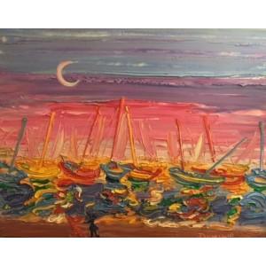 Яхты на рейде