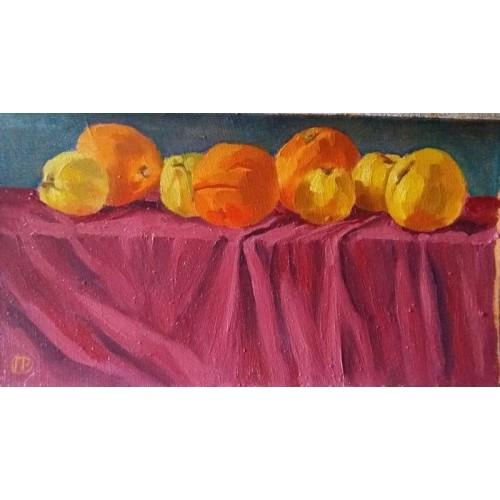 Яблука і апельсини