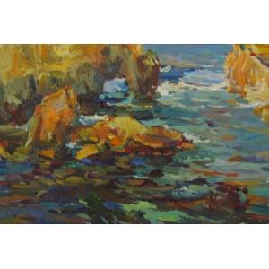 Скалы у берега