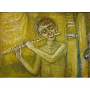 Мальчик, играющий на кларнете