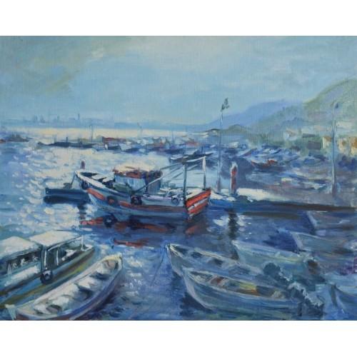 Португалия. Лодки в Сетубале