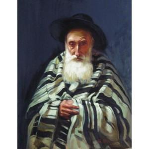 Еврей в полосатой накидке (копия)