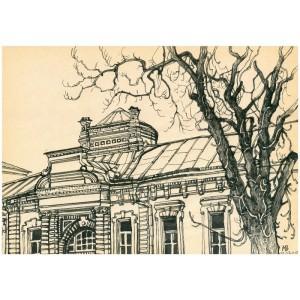 Архитектурная зарисовка
