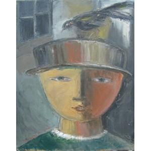 Портрет с птицей