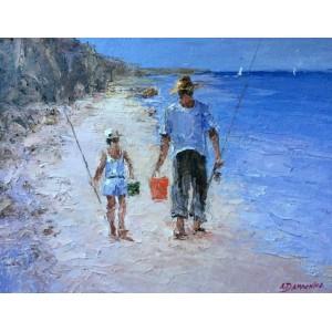 На рыбалку с отцом