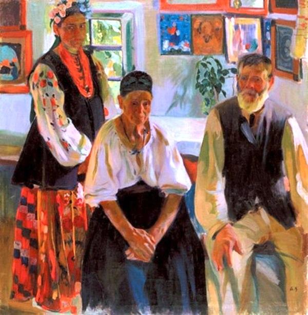 Деревенская семья, Александр Мурашко
