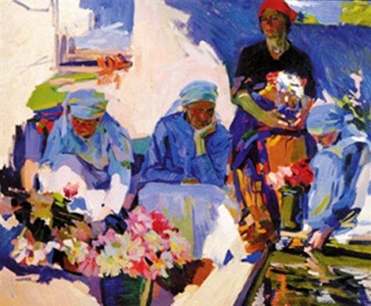 Продавщицы цветов, Александр Мурашко