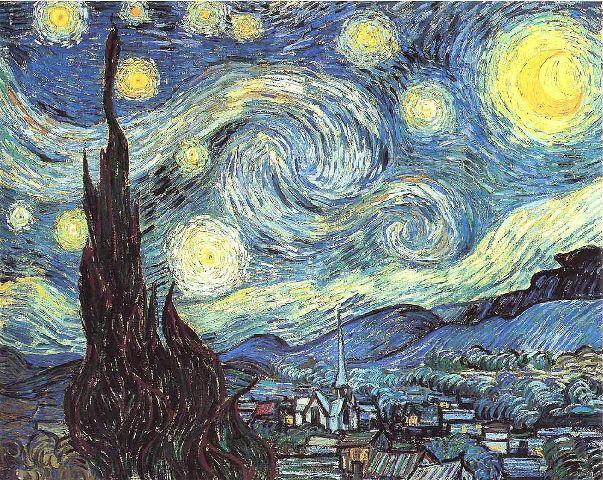 Винсент Ван Гог Звездная ночь