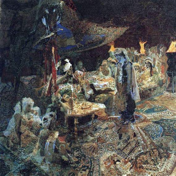 Восточная Сказка, Михаил Александрович Врубель