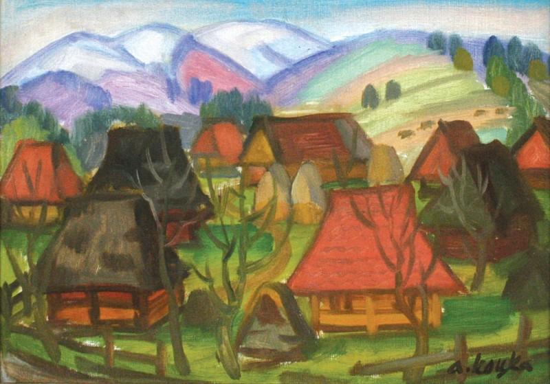 Андрей Коцка, Горное село, 70е годы