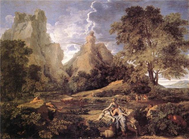 Никола Пуссен Пейзаж с Полифемом