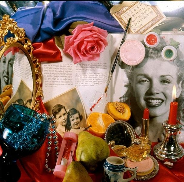 Одри Флэк, картина Marilyn (Vanitas), фотореализм
