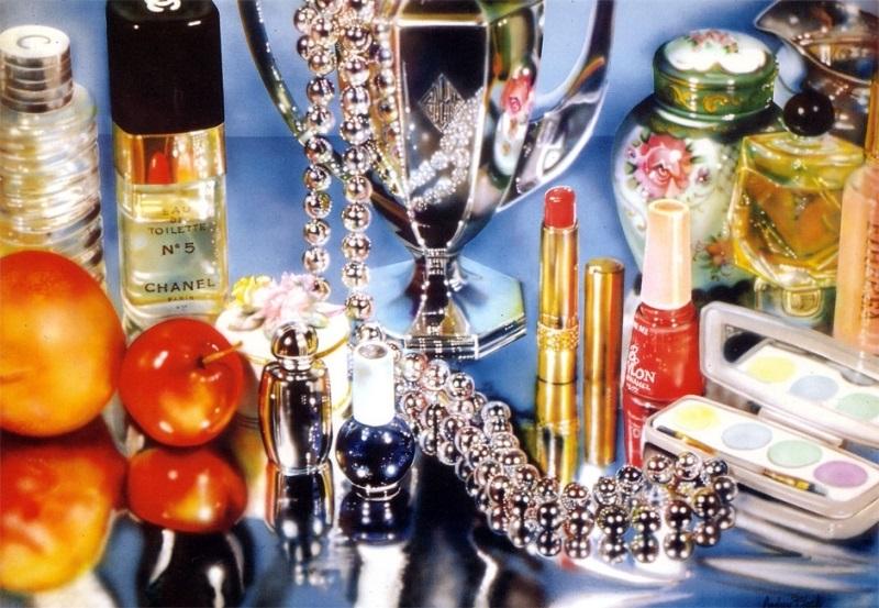Одри Флэк, картина Chanel, фотореализм