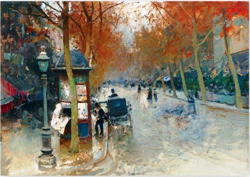 Левченко Петр, Улица Парижа