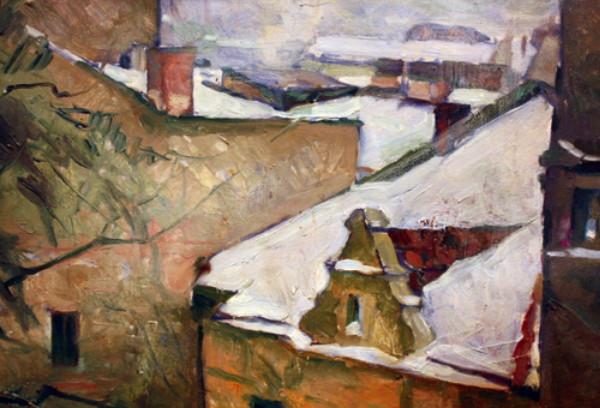 Роман Сельский, Крыши под снегом