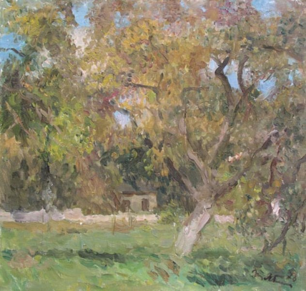 Яблонскя Татьяна, На лесной поляне