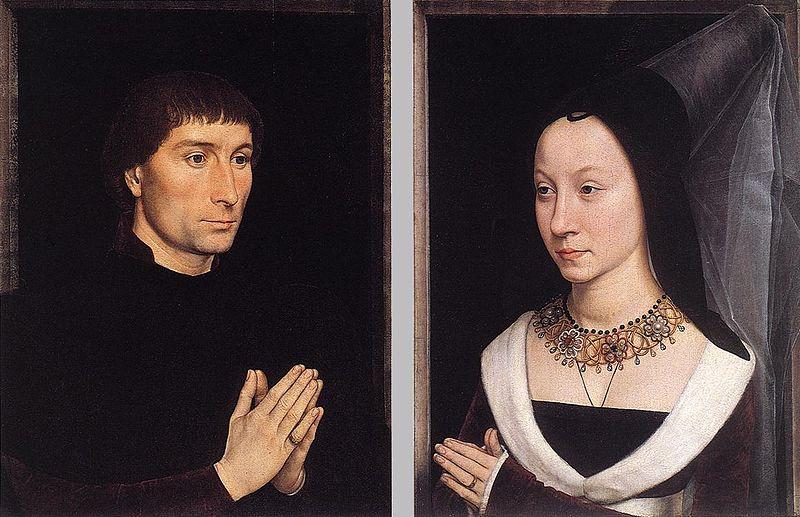 Ханс Мемлинг Портреты четы Портинари, 1470-71