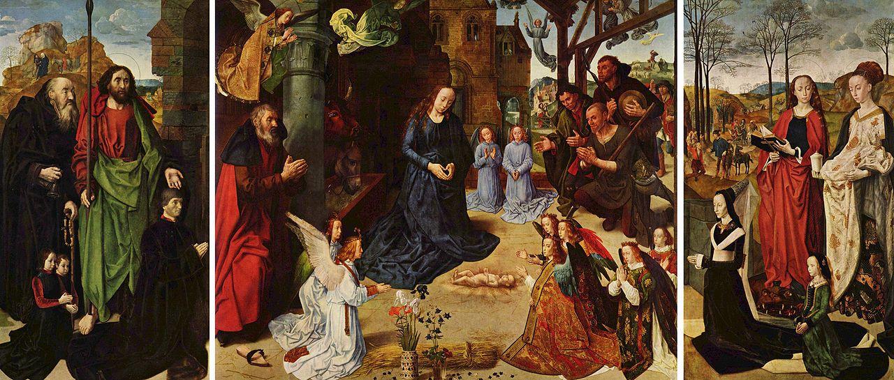 Хуго ван дер Гус Алтарь Портинари 1475-78