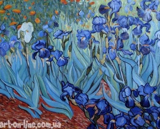 Копия картины Ирисы Винсента Ван Гога